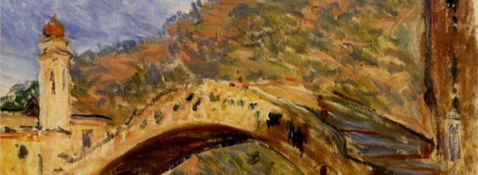Il ponte di Dolceacqua - Monet