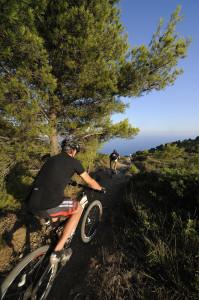 mountain bike percorsi in montagna