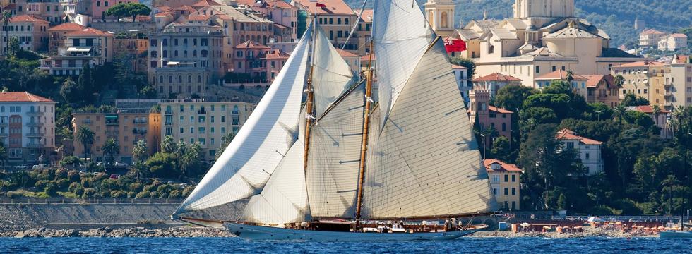 Die Regatta historischer Segelschiffe